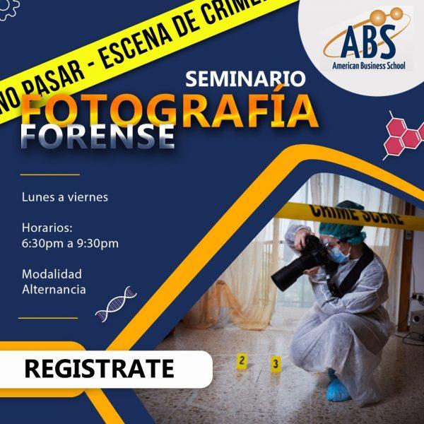 seminario fotografia forense