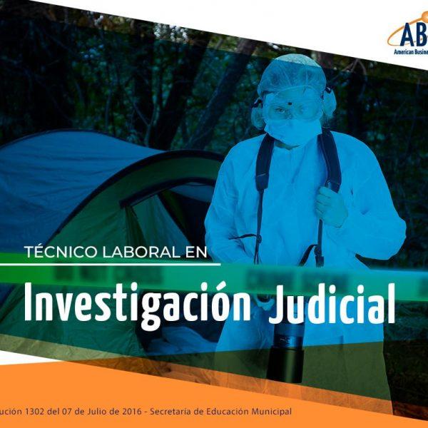 tecnico laboral investigacion judicial