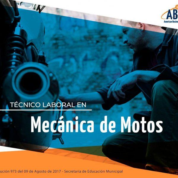 tecnico laboral mecanica de motos